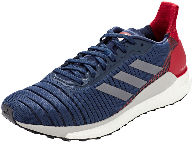 adidas Solar Glide 19 Low Cut Shoes Men collegiate navygrey fiveactive maroon